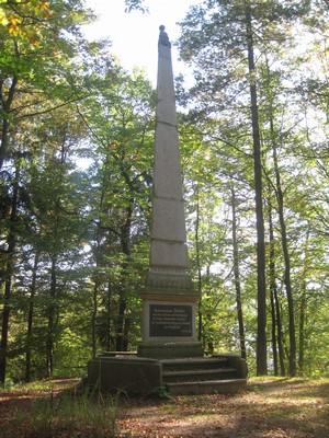 Findlaterův obelisk - říjen 2011