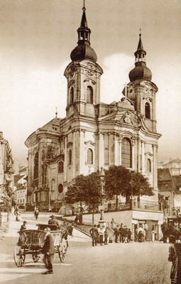 kostel sv. Máří Magdalény před rokem 1890