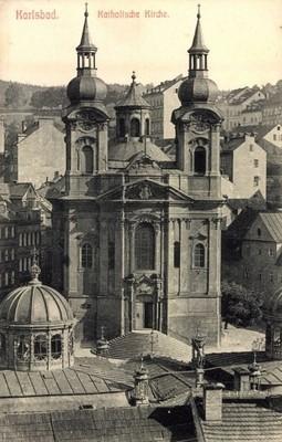 kostel v době před rokem 1897