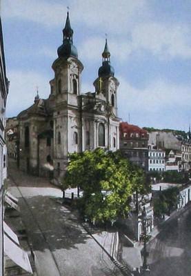budova bývalého děkanství na fotografii z doby před rokem 1890