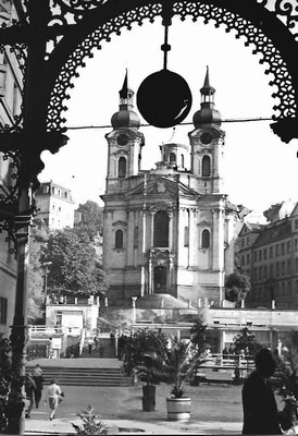 kostel sv. Máří Magdalény roku 1932