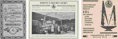 Jedna z prvních etiket a poválečná propagace