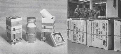 Sůl a její expedice, 1950 do SSSR