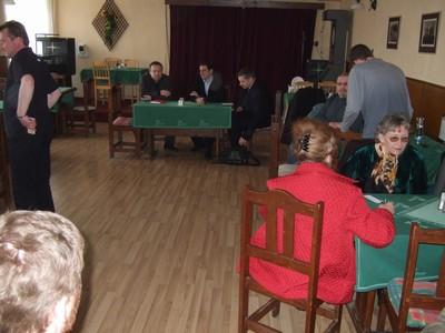 rok 2009 - každoroční setkání občanů Sedlece s představiteli karlovarské radnice pořádané v místní restauraci