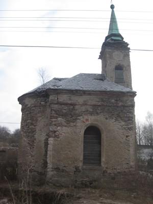 obecní kaple ve Smilově - únor 2011