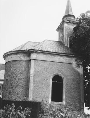 obecní kaple ve Smilově v roce 1963