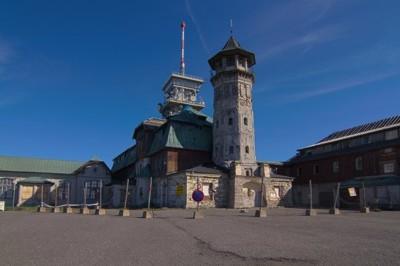 Horský hotel a rozhledna, Klínovec