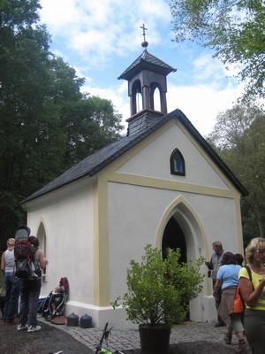 Vysvěcení kaple ve Stichlově mlýně
