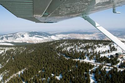 Klínovec (1244 m n.m.) - březen 2012