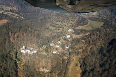 hrad a zámek Hauenštejn-Horní Hrad - březen 2012