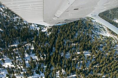 Krušné hory - březen 2012