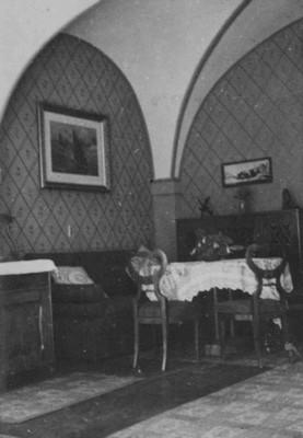 místnost v přízemí před rokem 1945