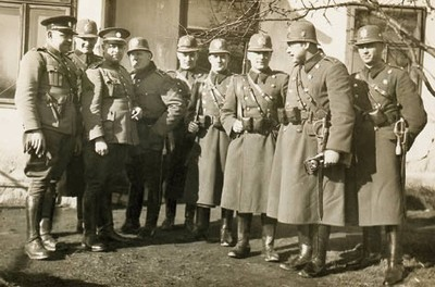 prvorepublikové četnictvo  - ilustrační foto