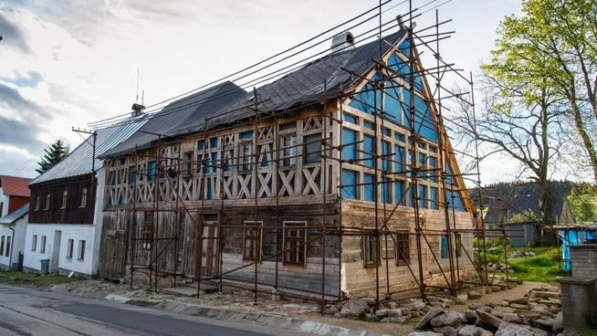 Horní Blatná - hrázděný dům čp. 29