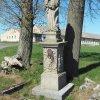 Semtěš - socha Panny Marie | zchátralá socha Panny Marie v Semtěši - duben 2016