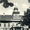 Štědrá - zámek   zámecká budova v roce 1940