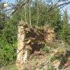Žlutice - kaple Panny Marie | pozůstatky barokní kaple Panny Marie - duben 2012