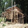 Žlutice - kaple Panny Marie | kaple Panny Marie během rekonstrukce - červenec 2016