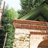 Žlutice - kaple Panny Marie | nové zastřešení obnovované barokní kaple Panny Marie nad Žluticemi - červenec 2016