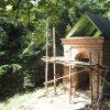 Žlutice - kaple Panny Marie | barokní kaple Panny Marie na vrchu Bellhübel během rekonstrukce - červenec 2016