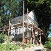 Žlutice - kaple Panny Marie | kaple Panny Marie během rekonstrukce - srpen 2016