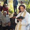 Žlutice - kaple Panny Marie | starosta Žlutic Václav slavík a farář Petr Řezáč během svěcení obnovené kaple dne 24. září 2016