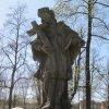 Ostrov - socha sv. Jana Nepomuckého | socha sv. Jana Nepomuckého - duben 2011