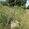 Bražec - Würknerův kříž   zdevastovaný Würknerův kříž - červenec 2015