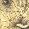 Dlouhá - Grundweberský kříž | Grundweberský kříž na rozcestí polních cest na mapě 1. vojenského josefského mapování z let 1764-1768