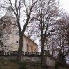 Andělská Hora - kostel sv. Michaela Archanděla   kostel sv. Michaela Archanděla před obnovou - listopad 2009