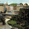 Karlovy Vary - Blanenský pavilon | komplex Blanenského pavilonu na pohlednici z roku 1912