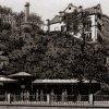 Karlovy Vary - Mlýnská kolonáda | Skalní pramen na polygrafii z doby kolem roku 1890