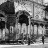 Karlovy Vary - Sadová kolonáda | Sadová kolonáda na historické fotografii z roku 1963