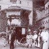 Karlovy Vary - altán pramene Svoboda   altán pramene Františka Josefa I. počátkem 20. století