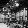 Karlovy Vary - litinová Vřídelní kolonáda | interiér promenádní haly Vřídelní kolonády roku 1893