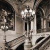Karlovy Vary - Císařské lázně (Lázně I) | schodiště v době kolem roku 1905