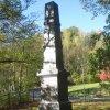 Karlovy Vary - sloup vděčných Maďarů | sloup vděčných Maďarů - říjen 2011