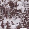 Karlovy Vary - Parkhotel Richmond | taneční zábava na hotelové terase v době před rokem 1945
