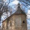Bochov - kostel sv. Jakuba | závěr kostela od jihovýchodu - duben 2013