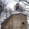 Bochov - kostel sv. Jakuba | závěr kostela od jihovýchodu - únor 2010