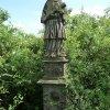 Vladořice - socha sv. Jana Nepomuckého | socha sv. Jana Nepomuckého - červen 2010