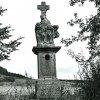 Vladořice - sousoší Piety | sousoší Piety ve Vladořicích v roce 1963
