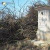 Semtěš - sousoší Piety | restaurovaný podstavec bývalého sousoší Piety u vsi Semtěš - březen 2016