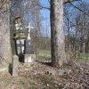 Svinov - pamětní kříž Ernsta Garkische   pamětní kříž Ernsta Garkische ve Svinově - duben 2013
