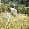 Březová - hřbitovní kaple | kaple na zanedbaném hřbitově ve 2. polovině 20. století