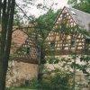 Salajna - mlýn Gahmühle | hrázděné štíty objektů počátkem 21. století