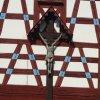Salajna - mlýn Gahmühle | obnovený krucifix ve štítu - duben 2014
