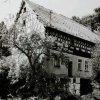 Salajna - mlýn Gahmühle | zchátralé obytné stavení s mlýnicí v 70. letech 20. století