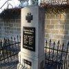 Hrušková - pomník obětem 1. světové války | obnovený pomník padlým - březen 2014