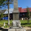Boží Dar - pomník obětem 1. světové války | přední strana pomníku padlým - říjen 2013